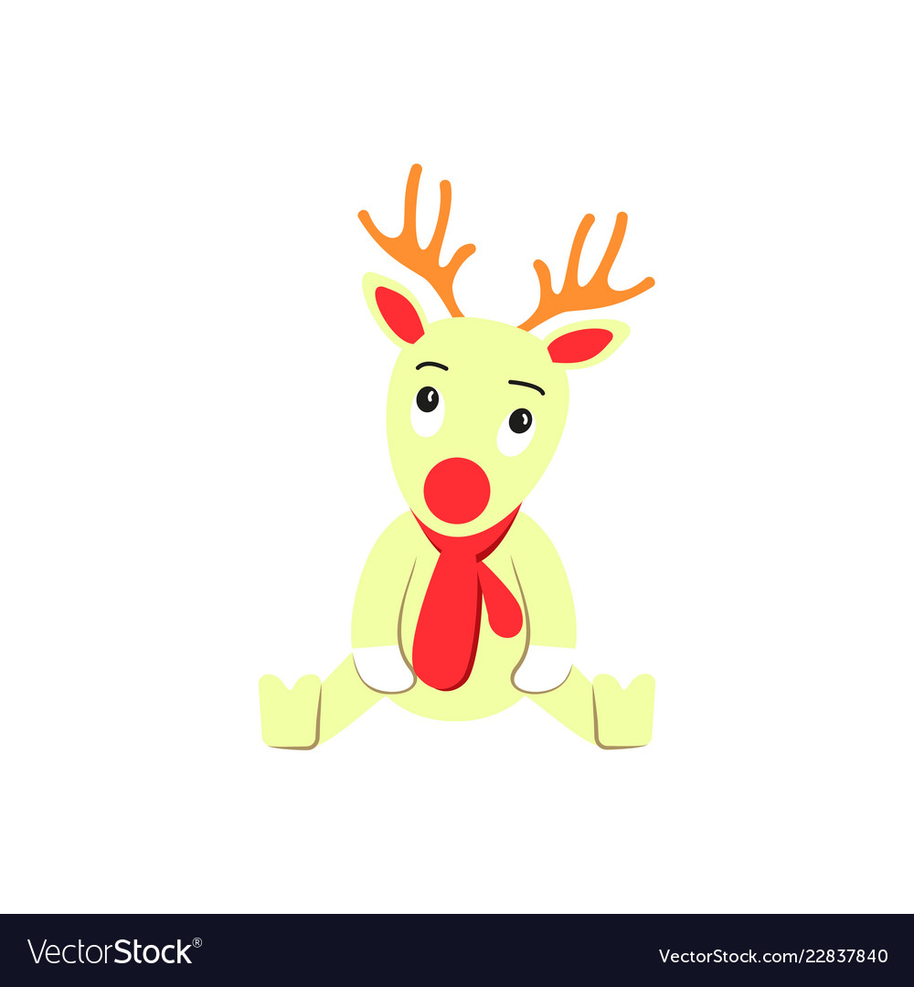 A deer of christmas icon holiday day
