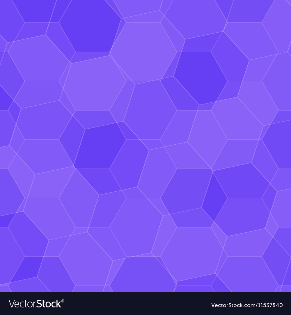 Background with violet honeycombs