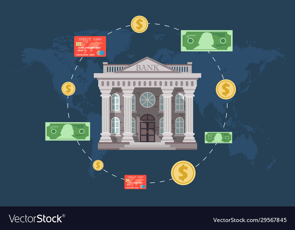 Concept Global Foreign Exchange Market