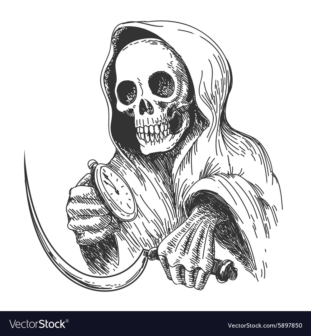 Waiting Death vector image