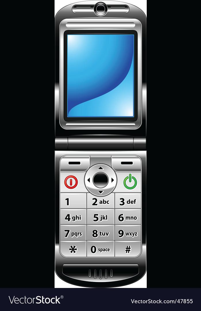 Cellphone blue screen