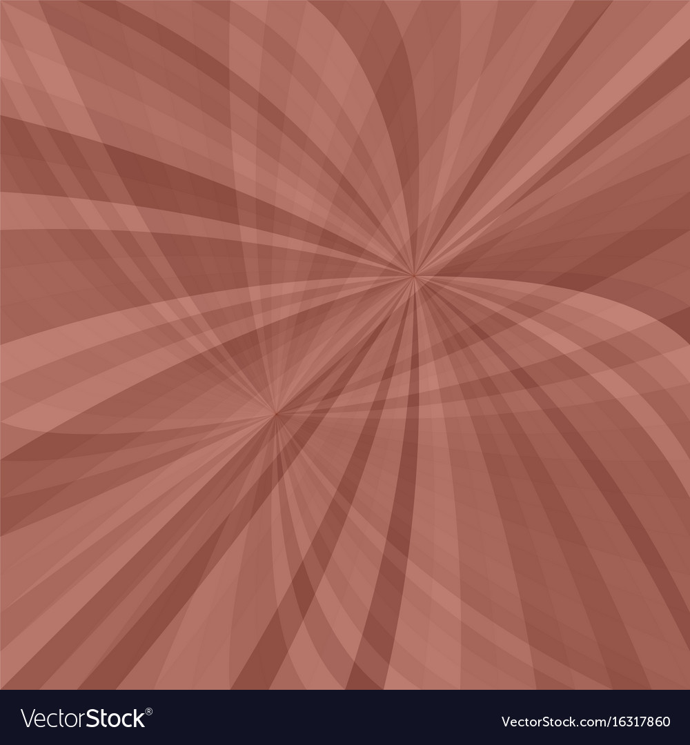 Curved ray burst background vector image