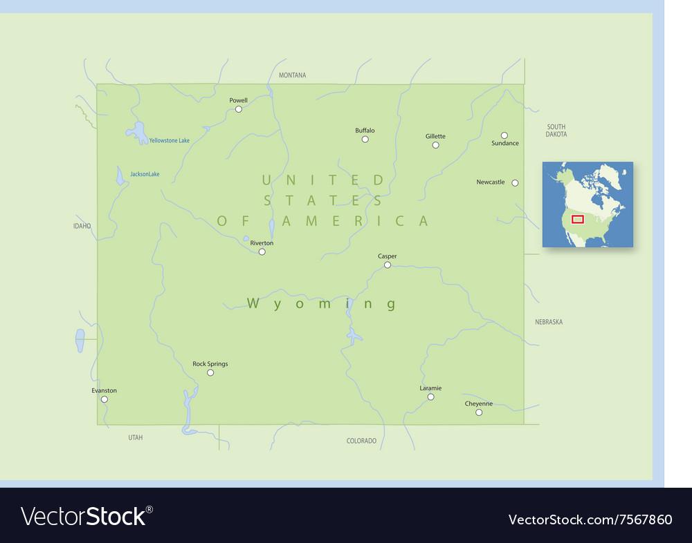 USA Wyoming Small