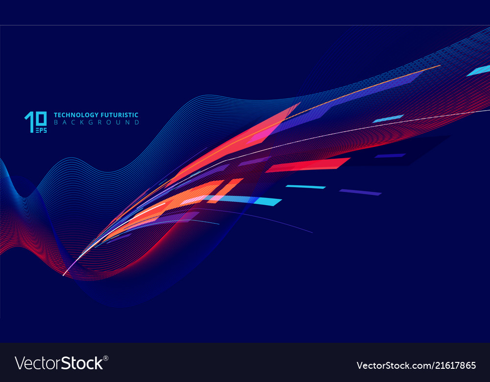 Abstract perspective technology geometric and