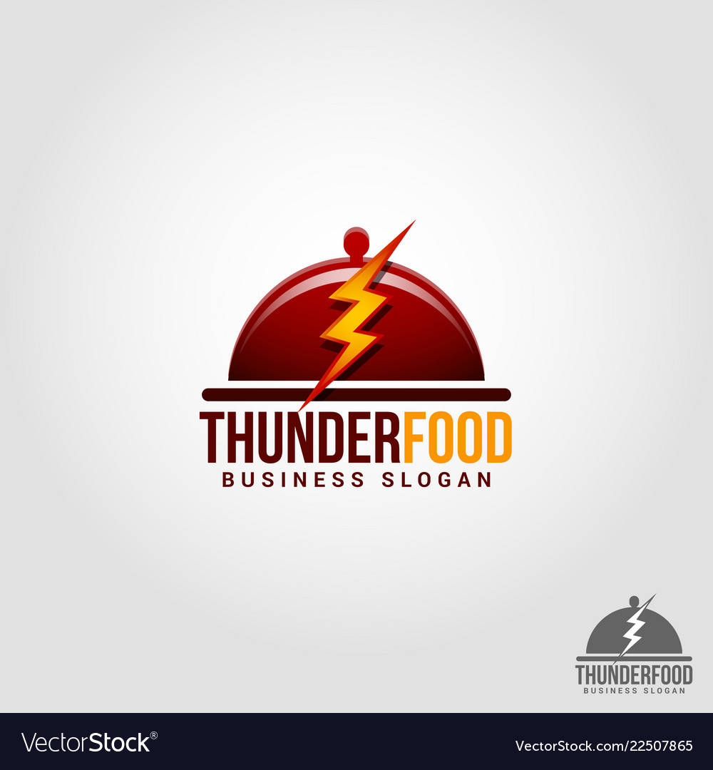 Thunder food - flash food - professional flash