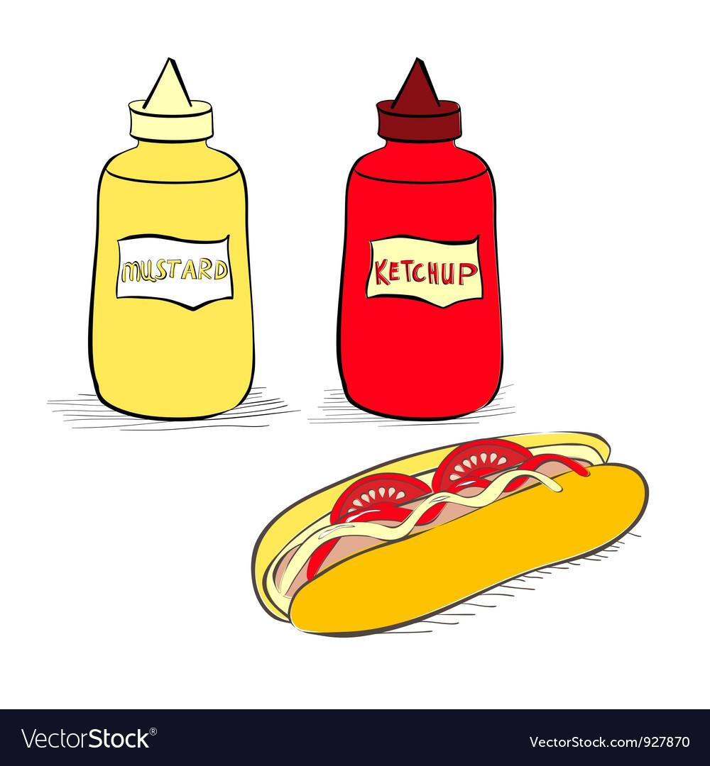 Кетчуп картинки для детей нарисованные, картинки для