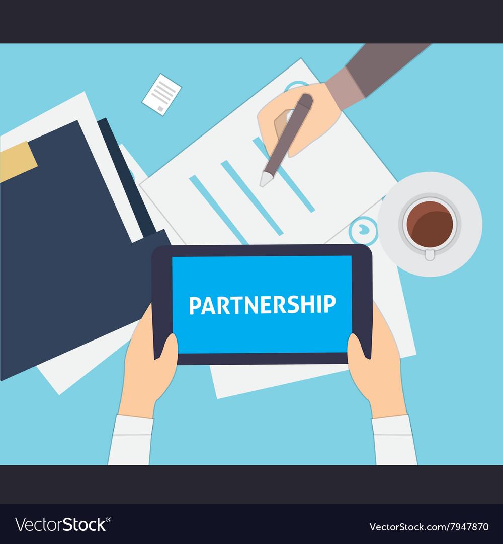 Partnership flat