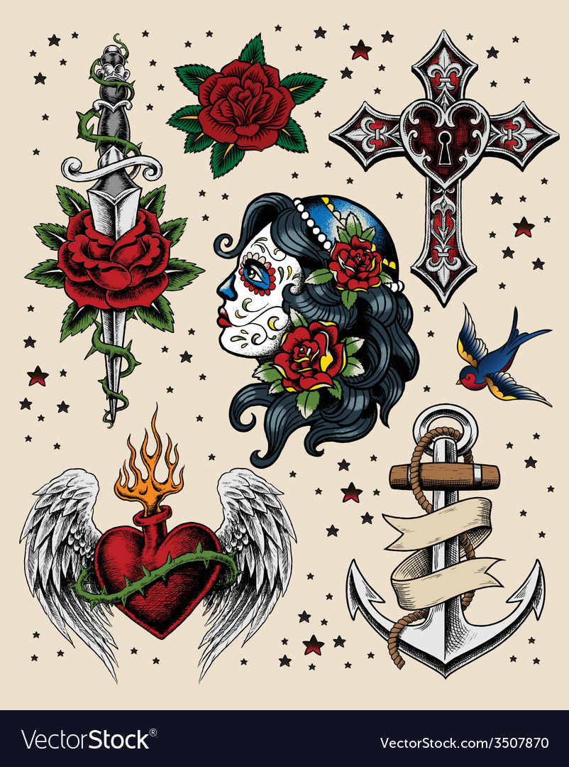 Tattoo Flash Set