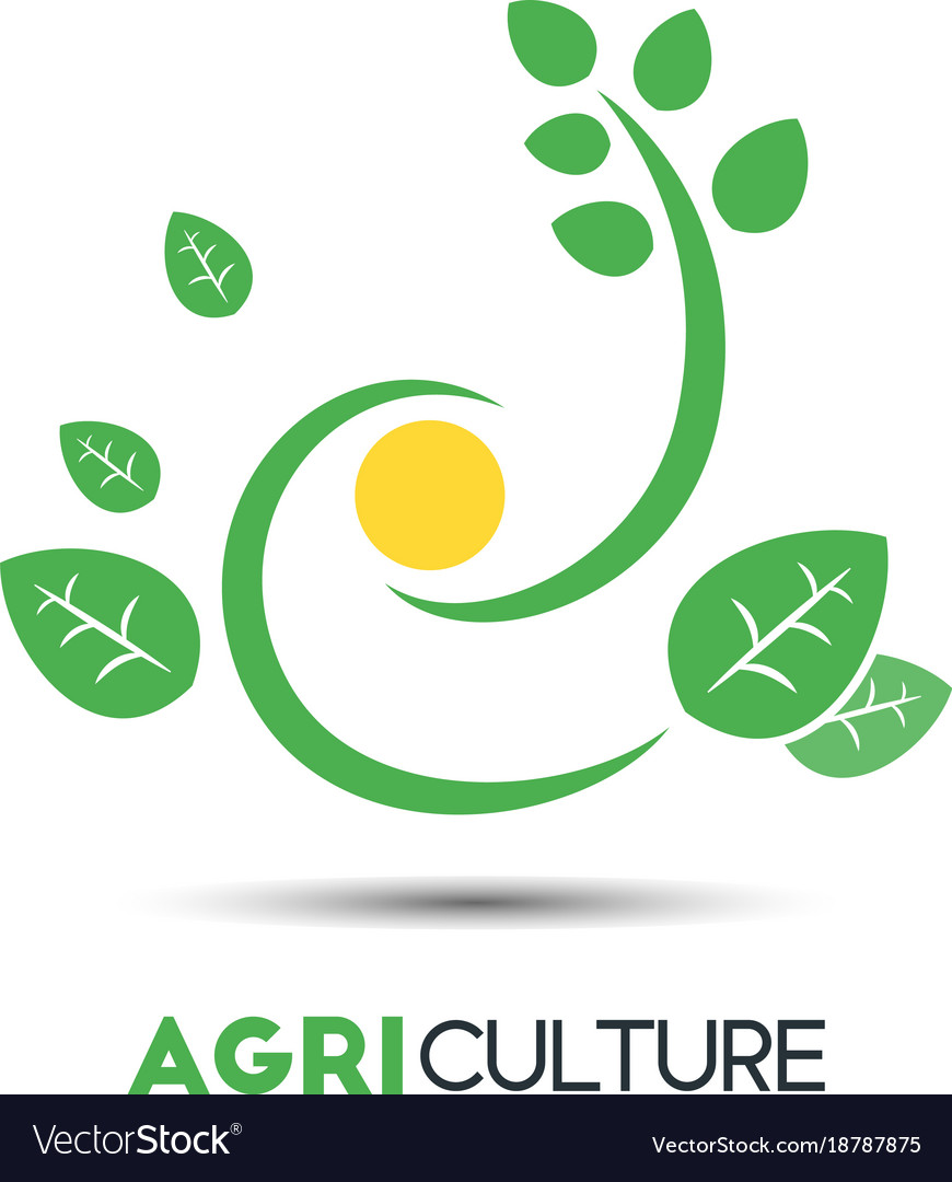 Agriculture business logo template unique green vector image cheaphphosting Gallery