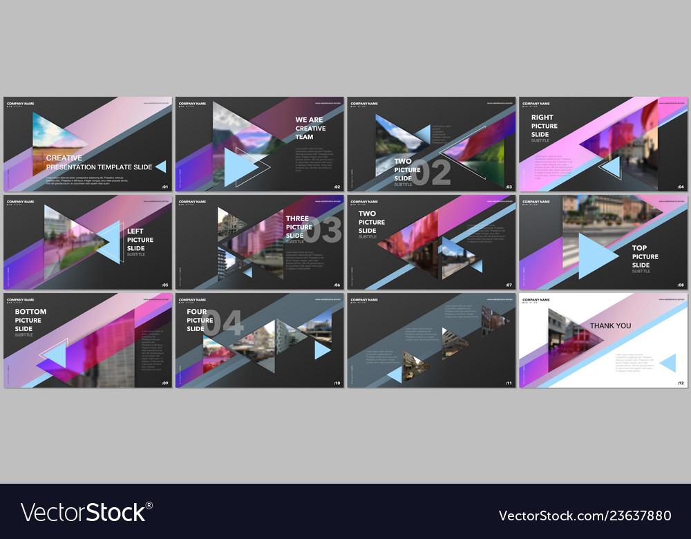 Minimal presentations design portfolio