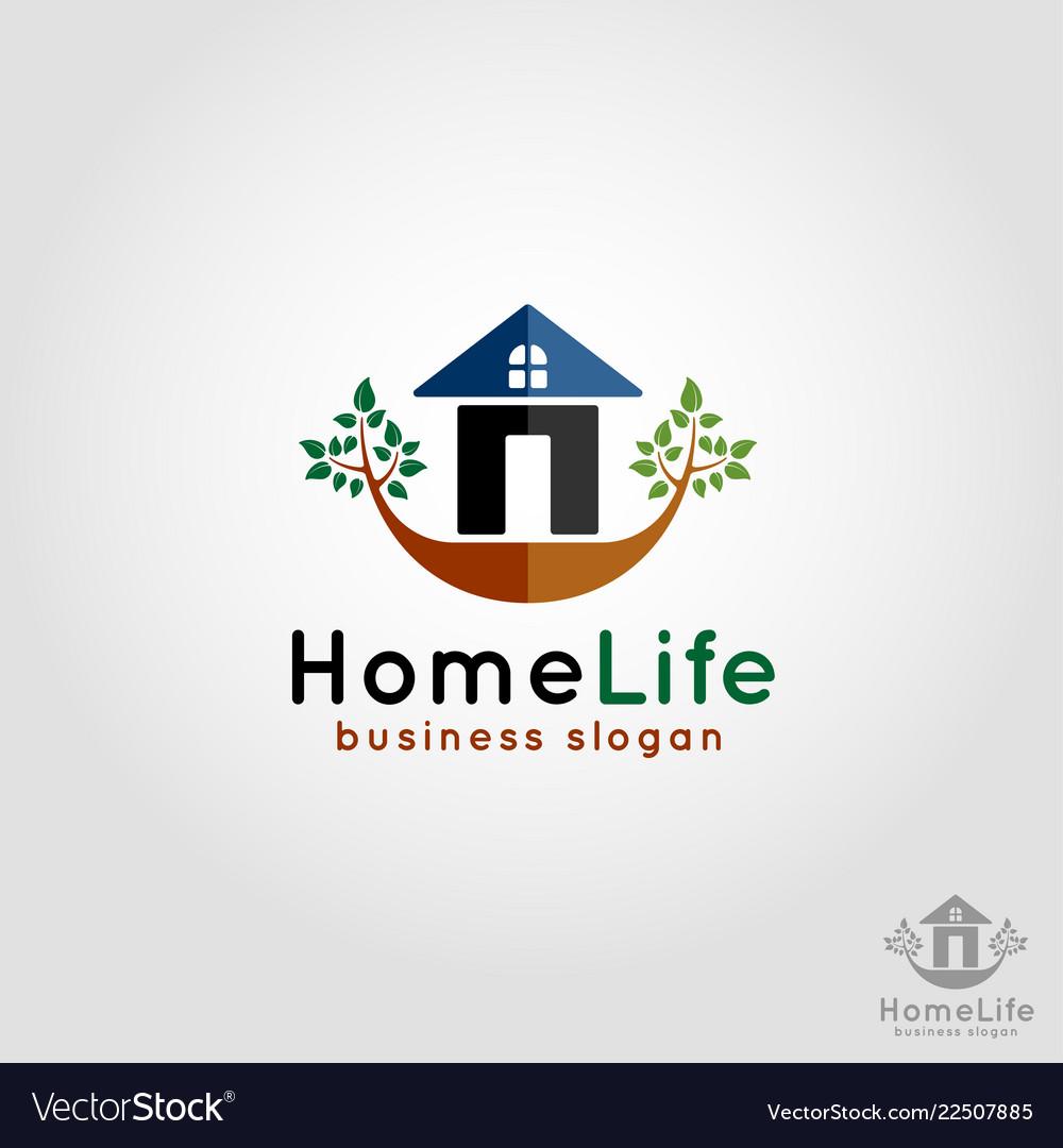 Home life - residence logo