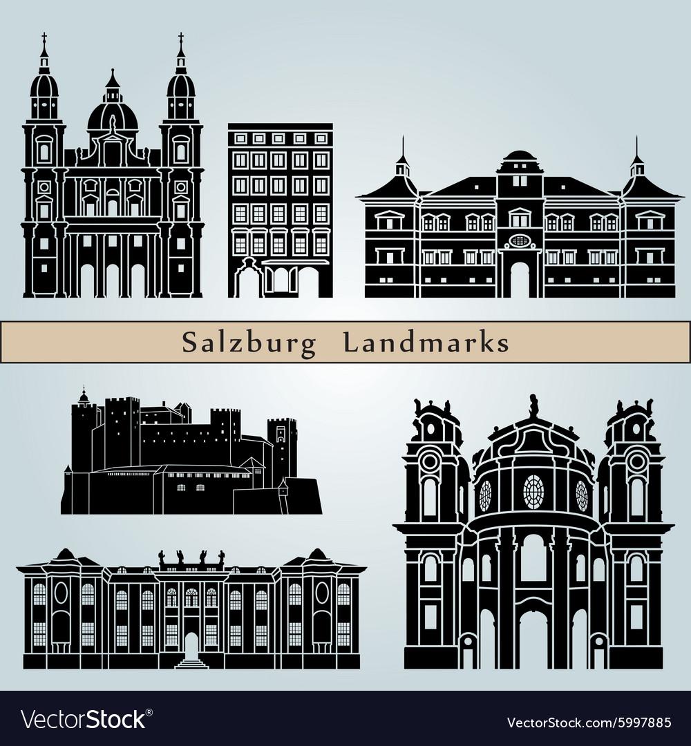 Salzburg landmarks and monuments