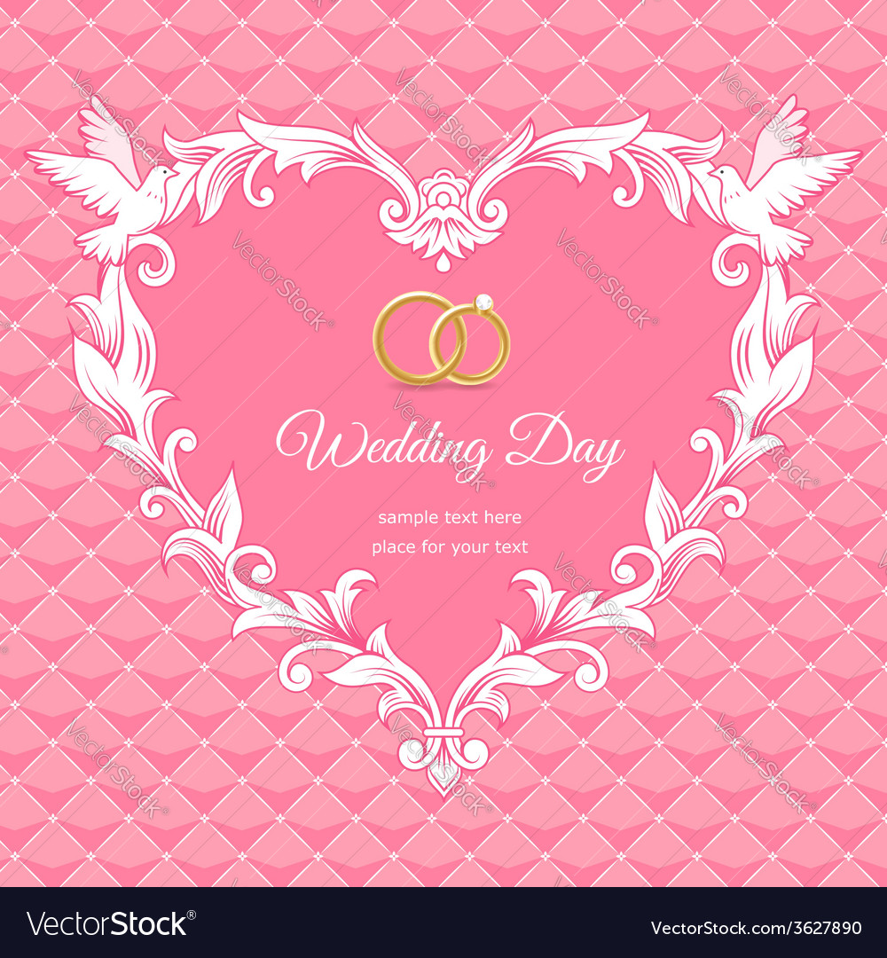 wedding heart design selo l ink co