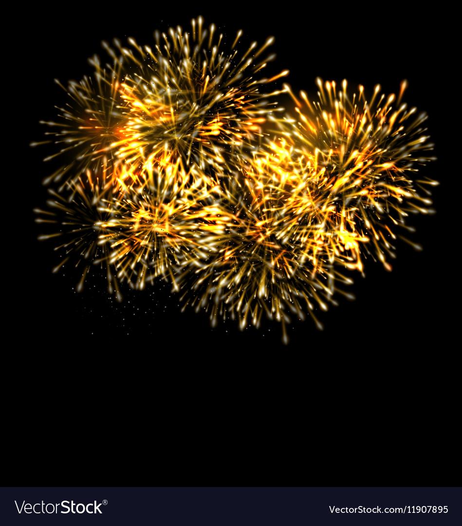 Illuminated Festive Firework Glowing Holiday