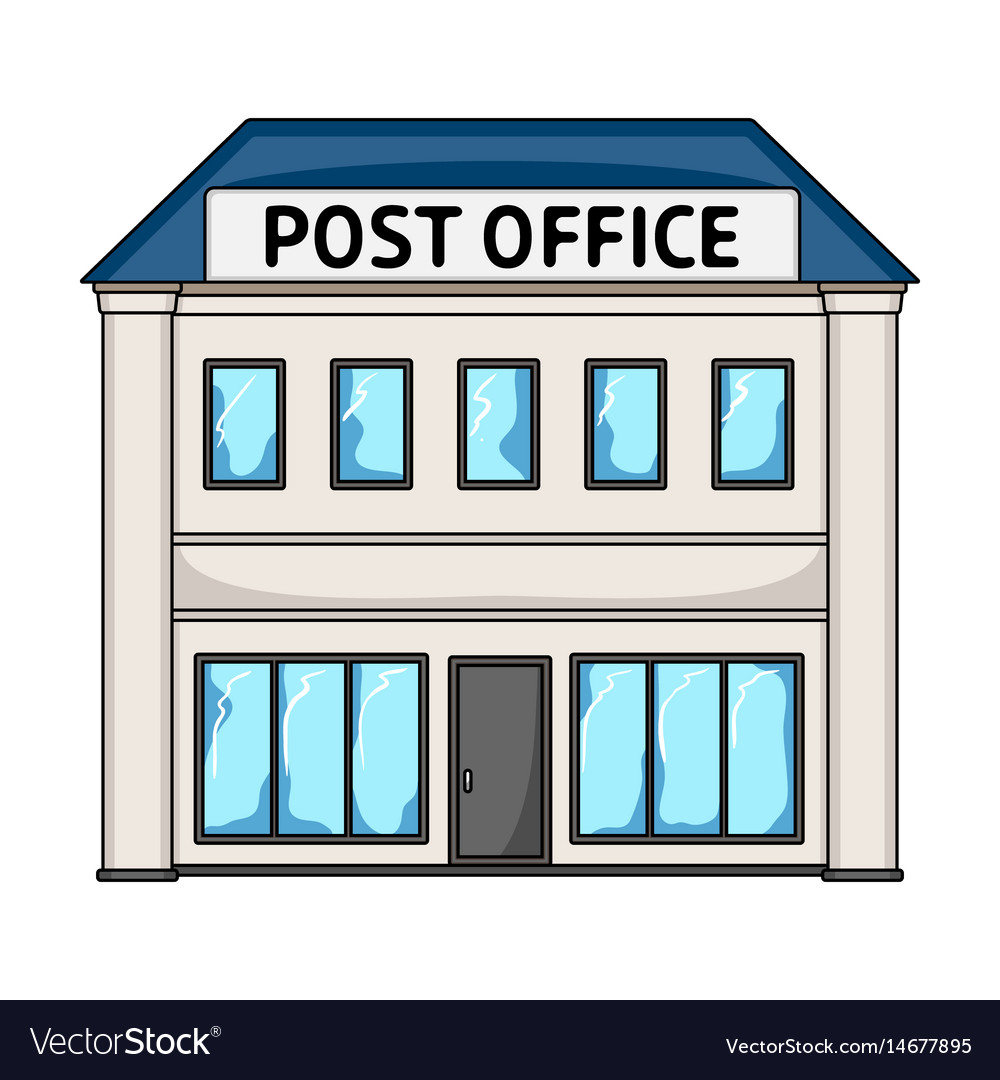 Post officemail and postman single icon in