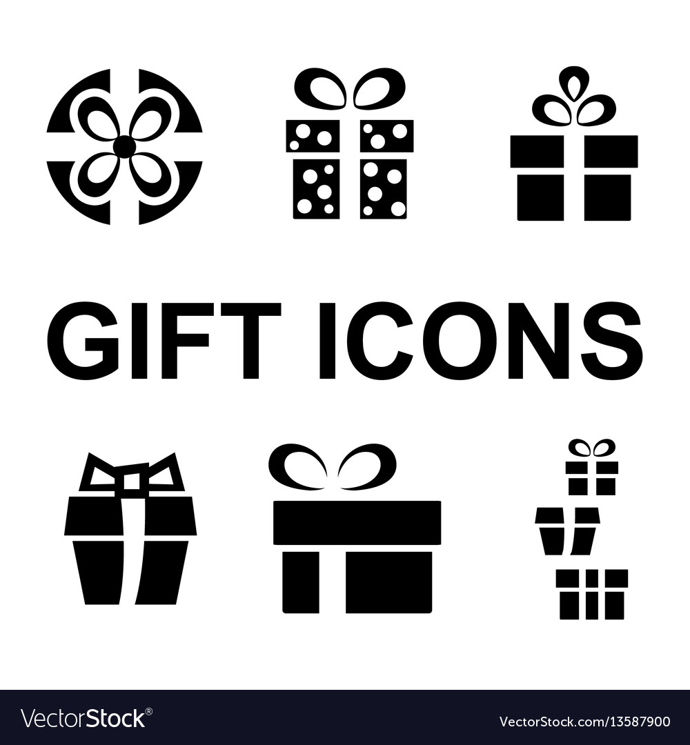 Gift or present icon