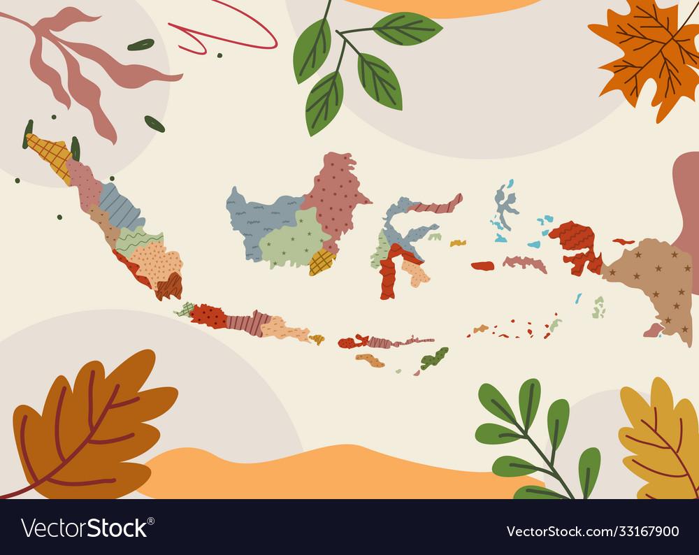 flat map jakarta vector images 66 vectorstock