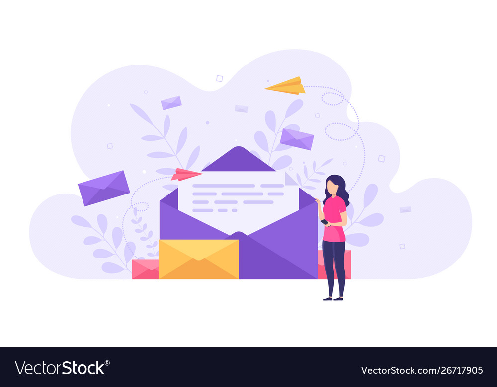 Concept sending and receiving mail messages