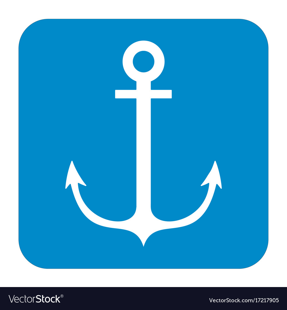 Nautical anchor icon