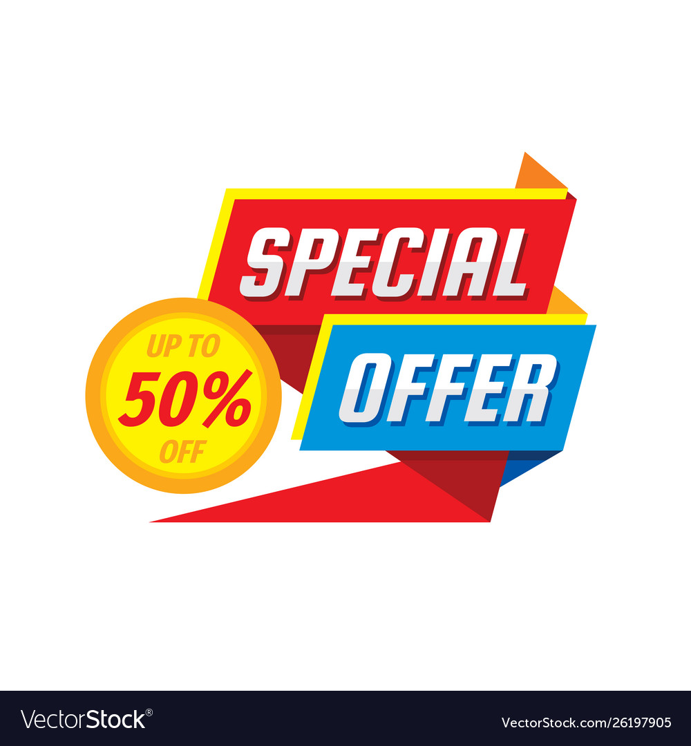 Sale tag badge design discount abstract