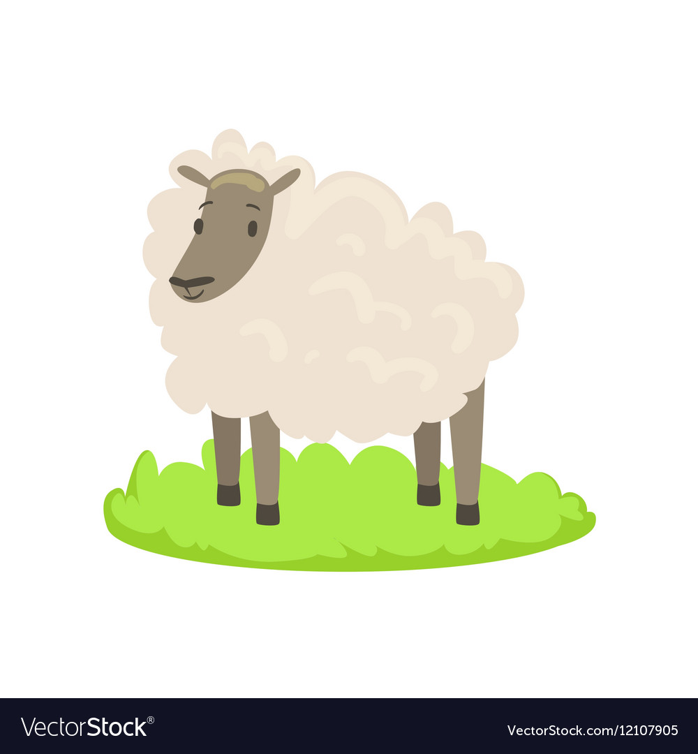 Sheep Farm Animal Cartoon Farm Related Element On
