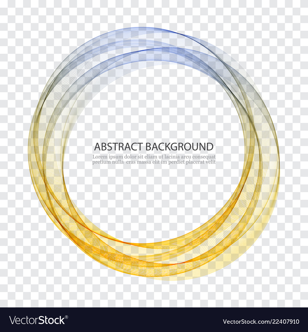 Abstract background round futuristic wavy