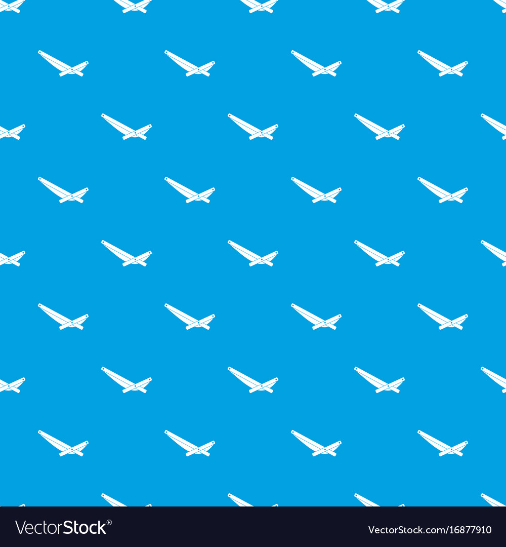 Recliner pattern seamless blue