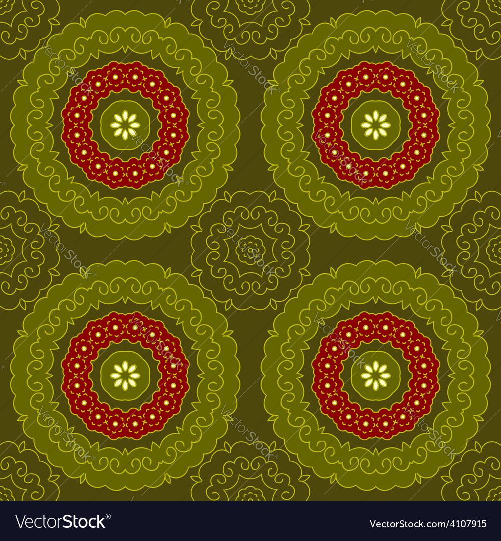 Circle pattern indian