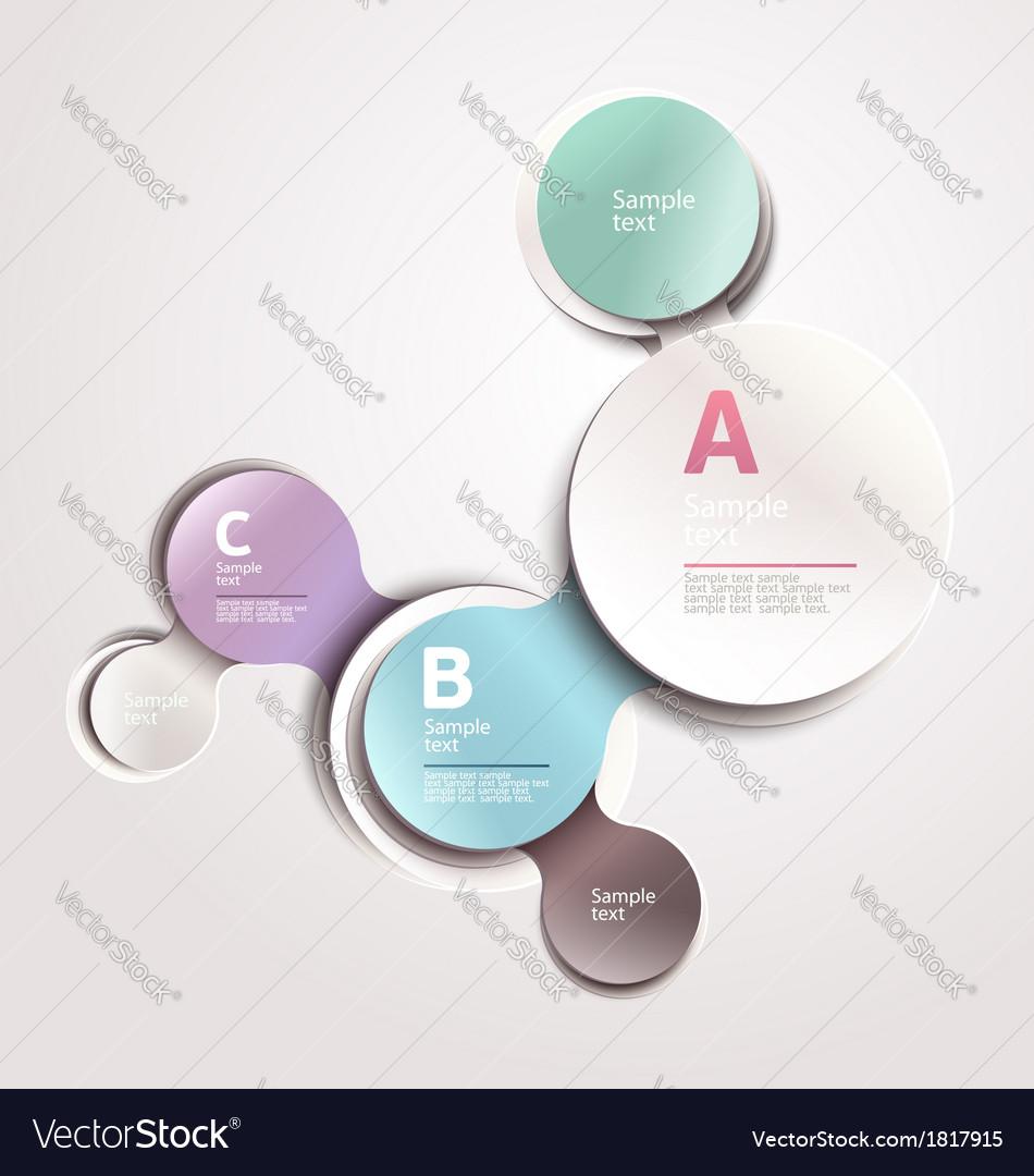 Design circle template