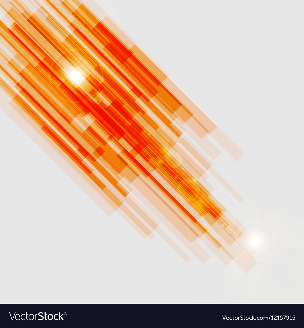 Orange Straight Lines Abstract Background