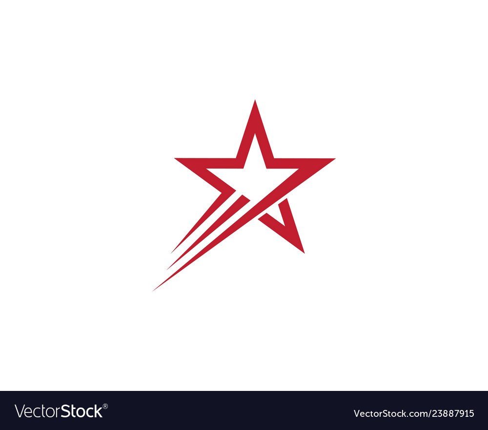 Star logo template design