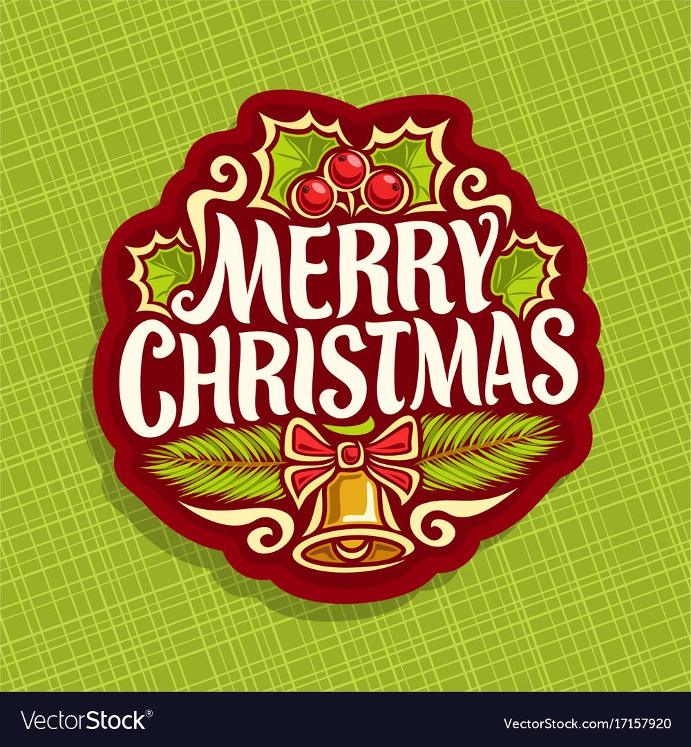 Logo for christmas