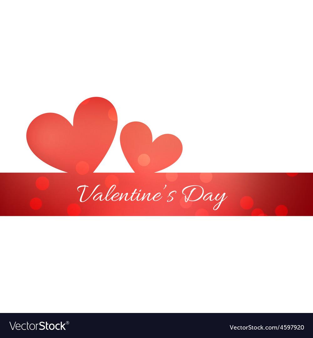 Simple valentine day background