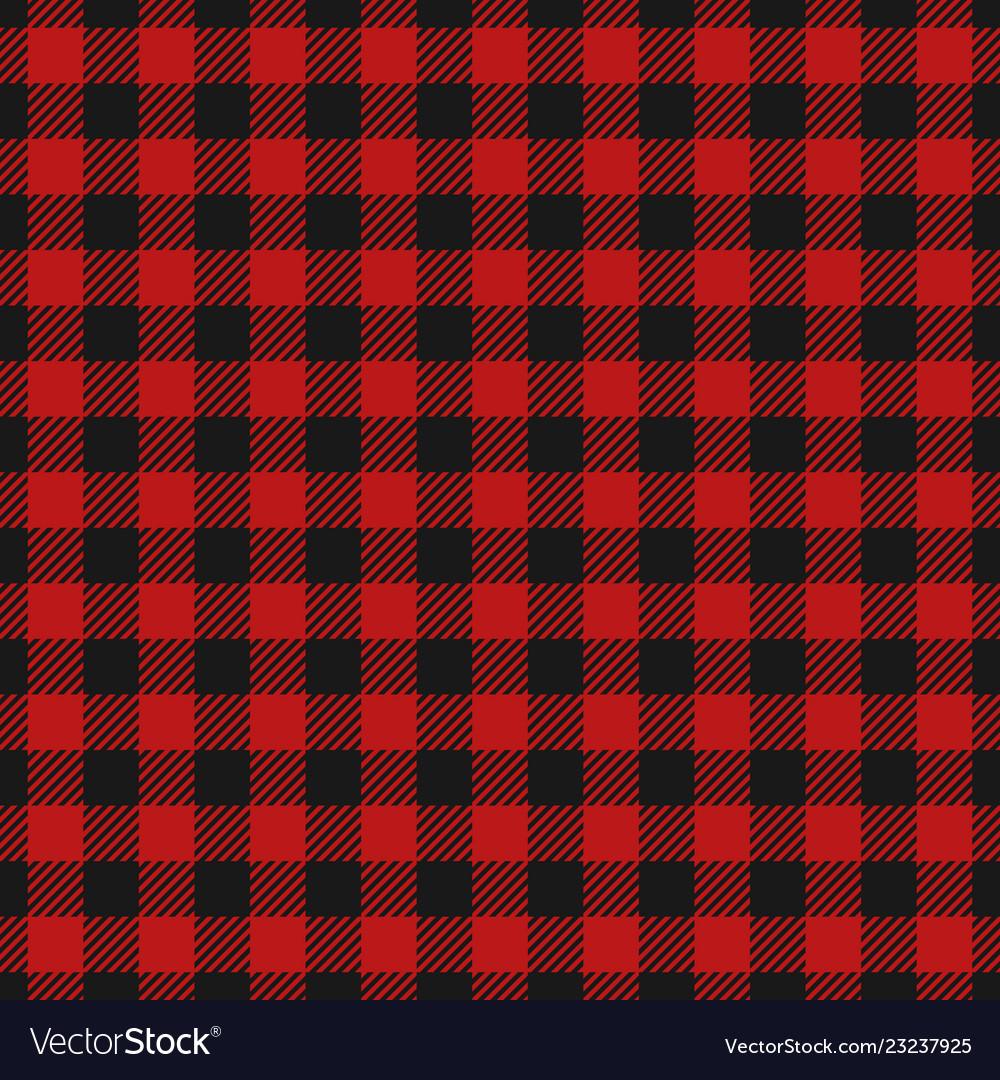 Red lumberjack pattern