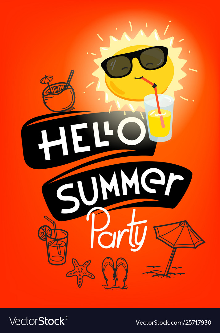 Hello summer party