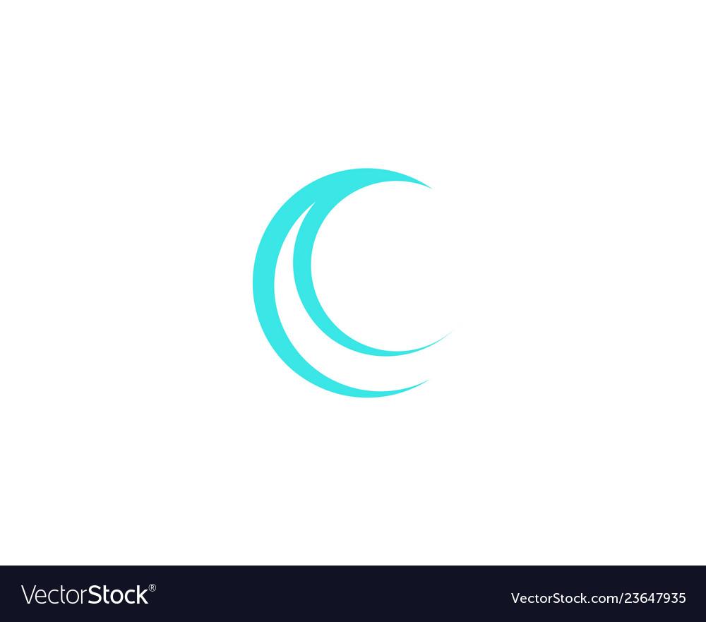 Moon logo design creative moon logo night logo