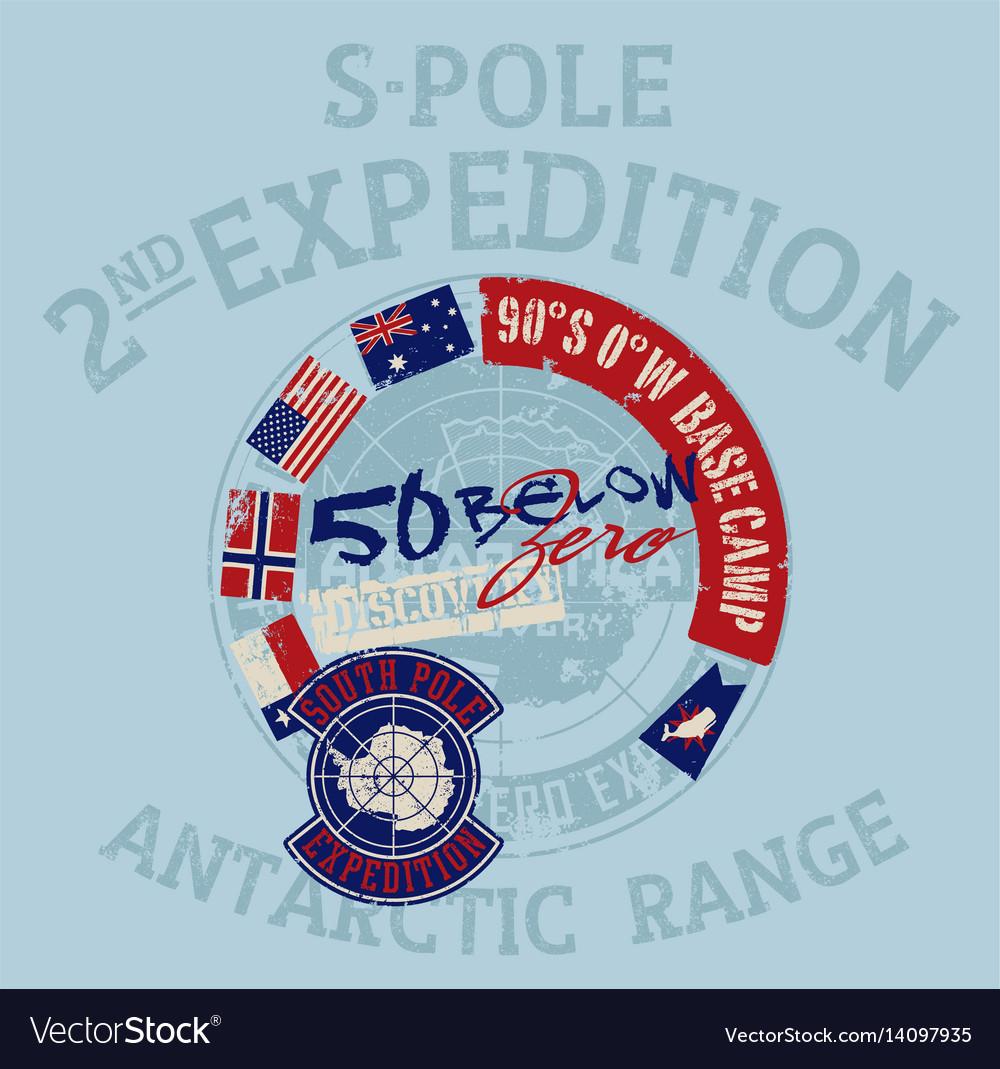 South pole antarctica expedition
