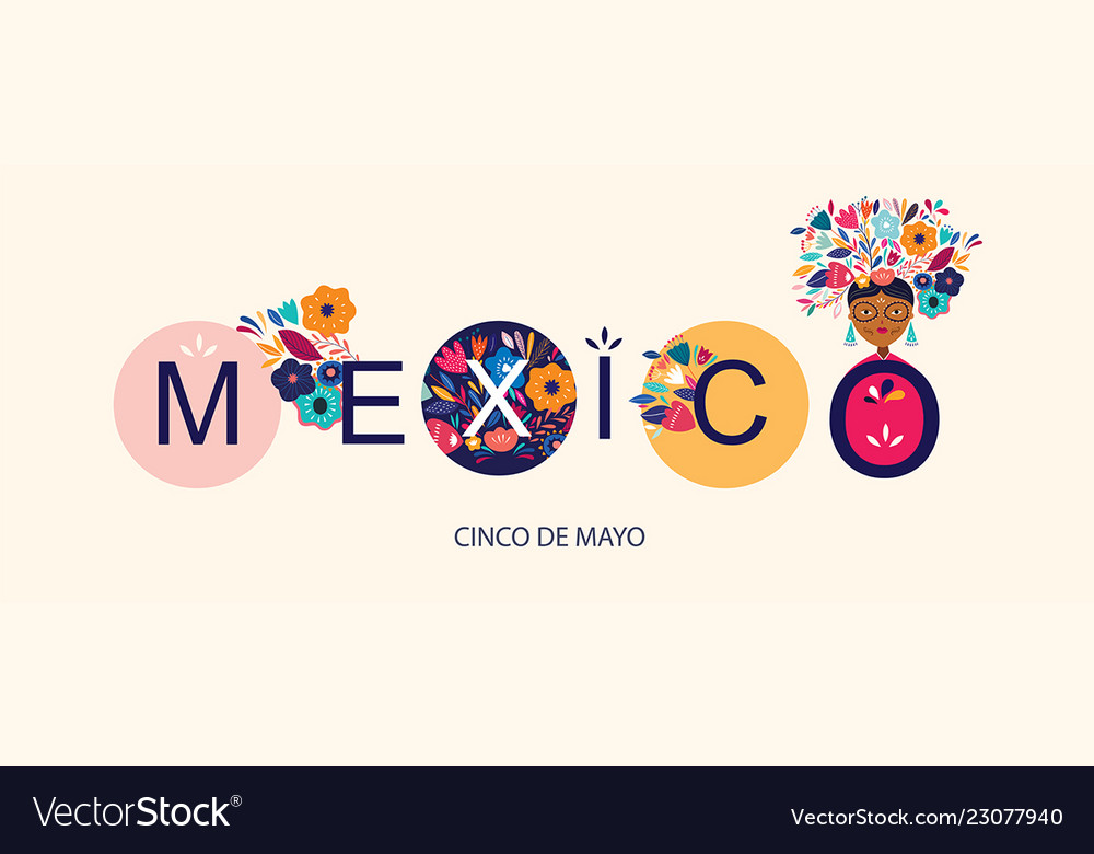 Beautiful design about mexico