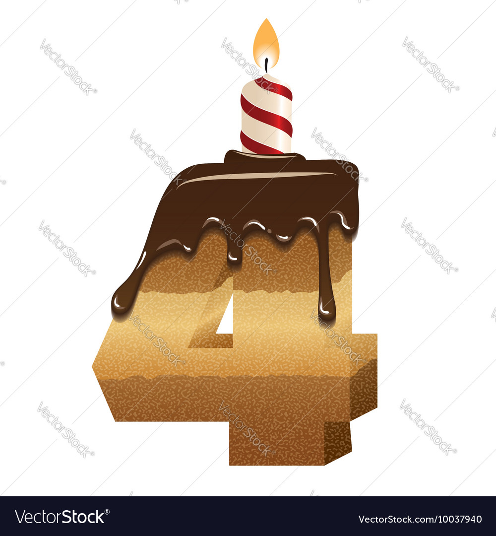 Birthday Cake Font