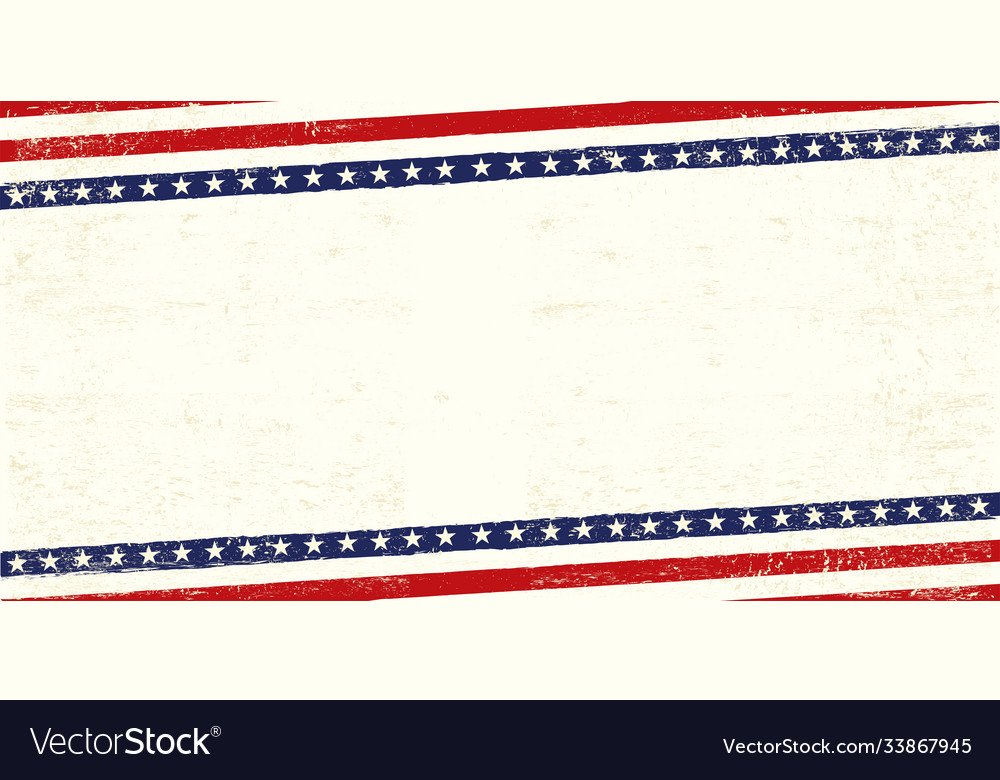 American old banner