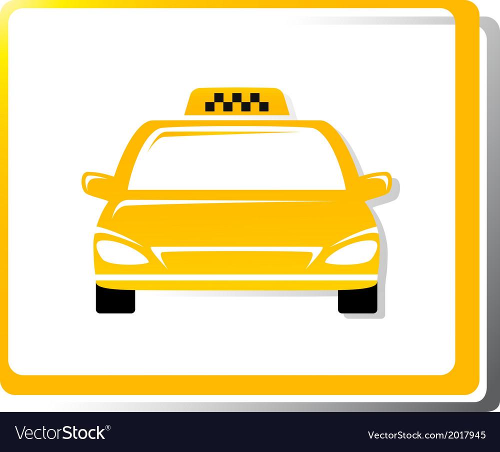 Taxi car image