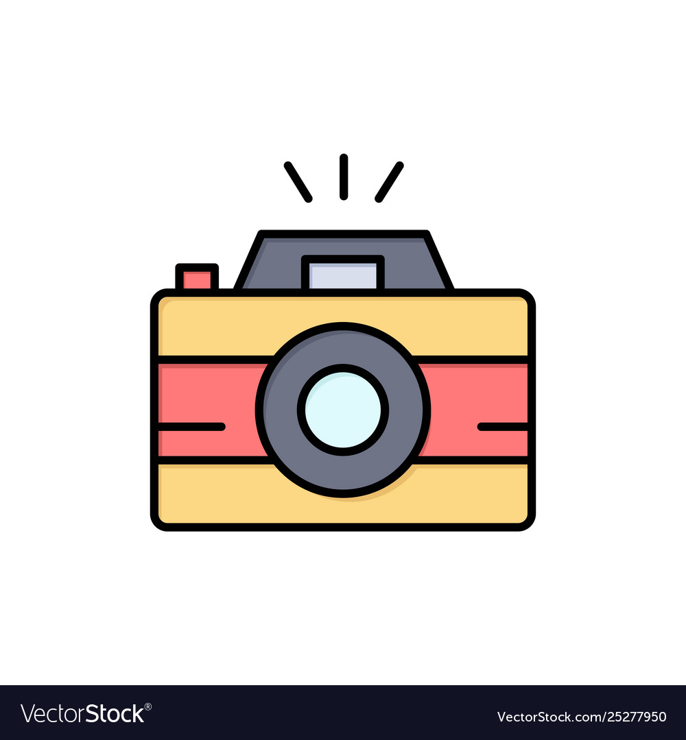 Camera Image Photo Photography Flat Color Icon Vector Image Over 11,759,862 icon pictures to choose from, with no signup needed. vectorstock
