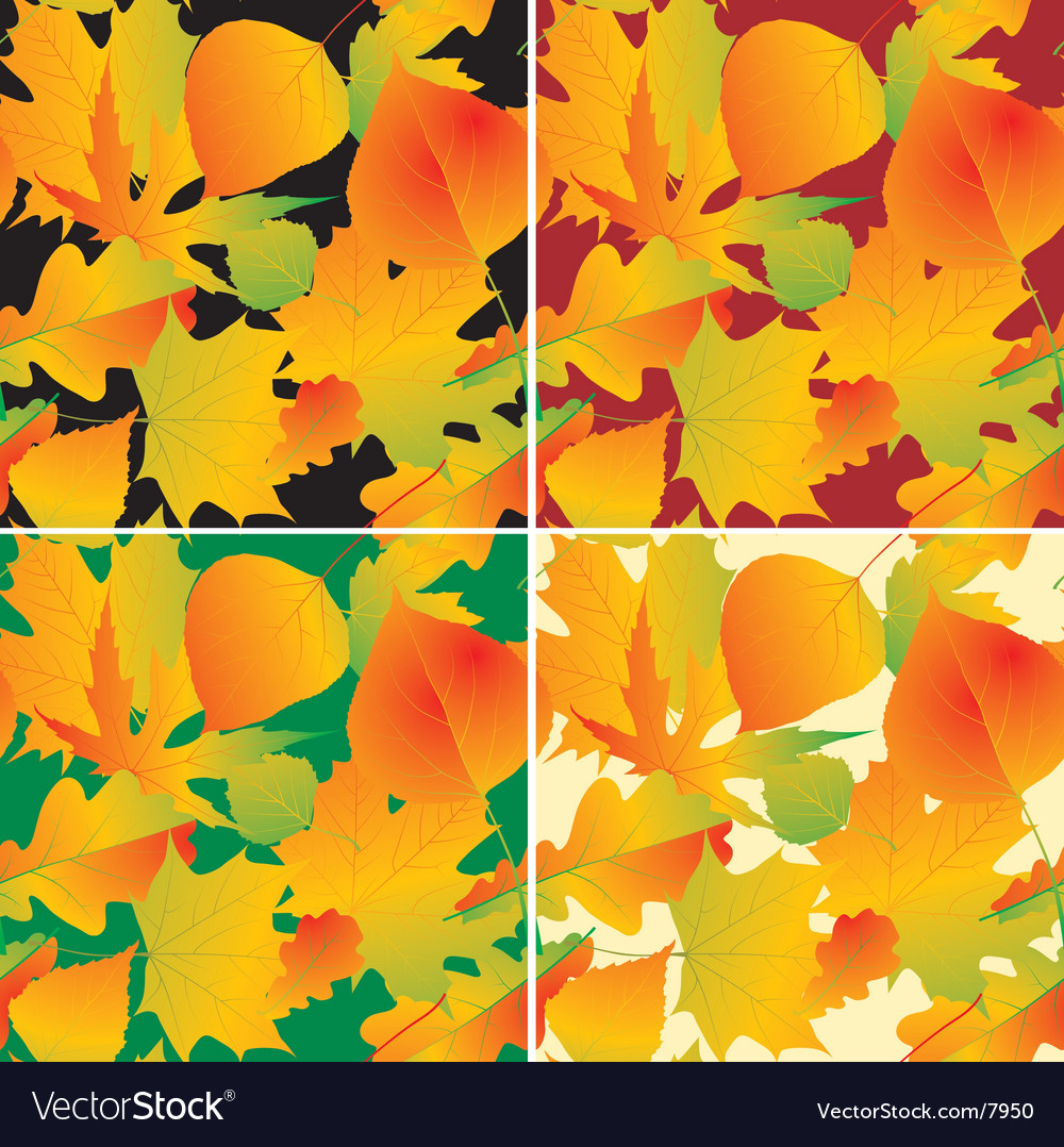 foliage backgrounds royalty free vector image vectorstock