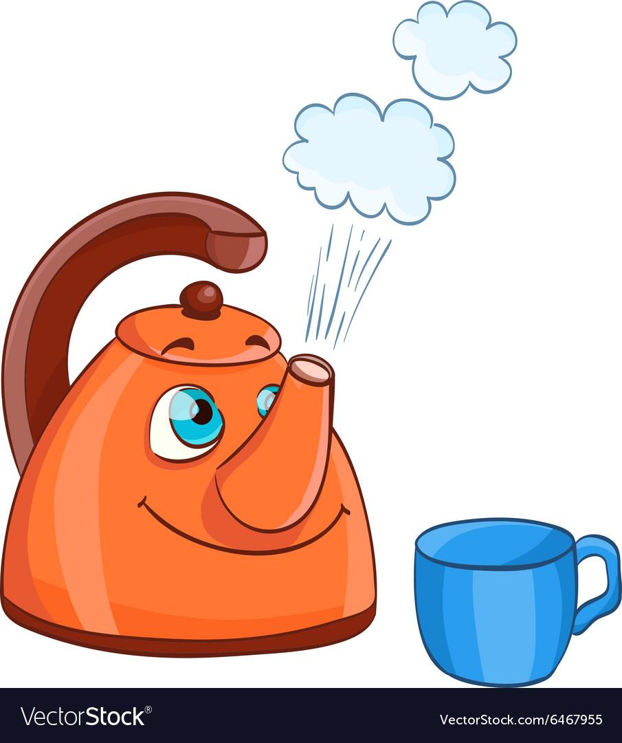 Картинка смешная чайник кипит, живой природы рабочий
