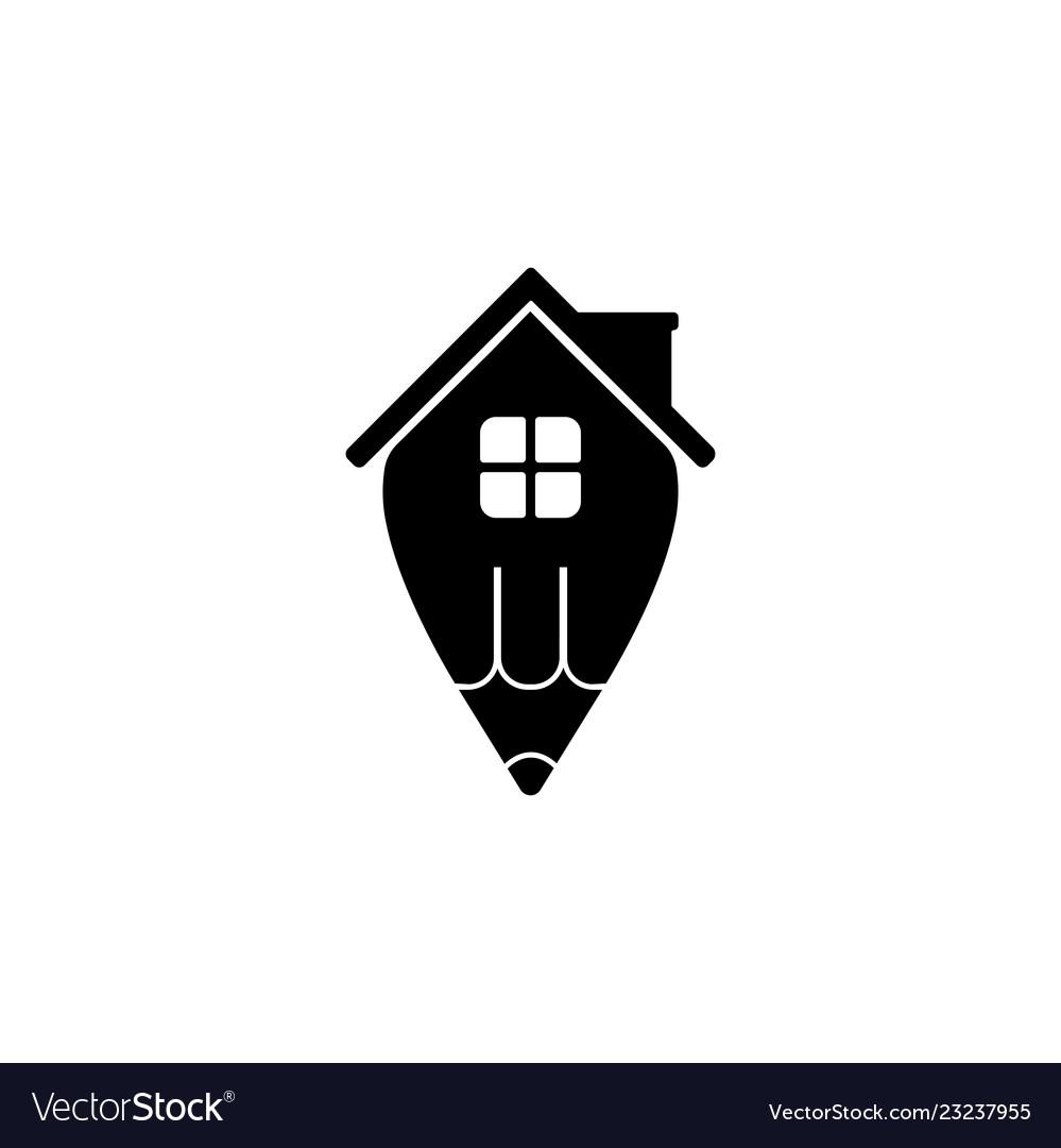 Creative Home Idea Logo Design Template
