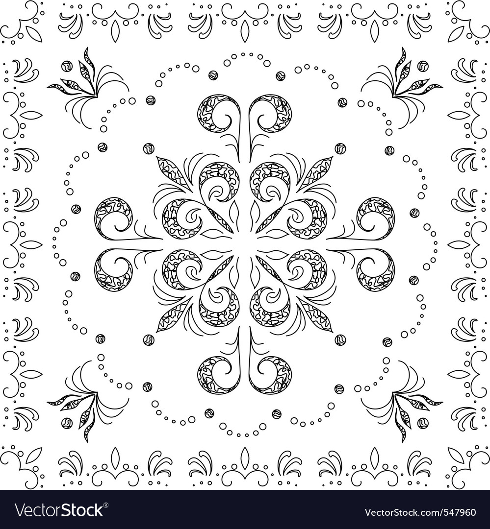 Abstract background outline