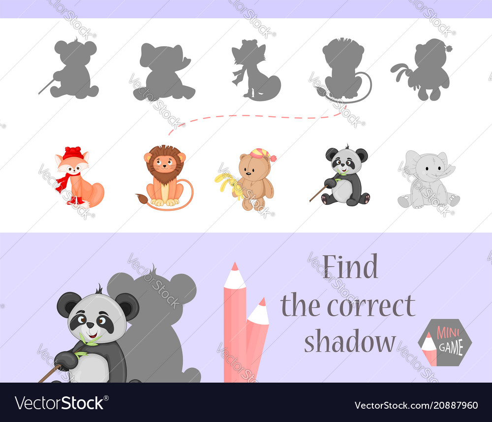 Find the correct shadow education game for