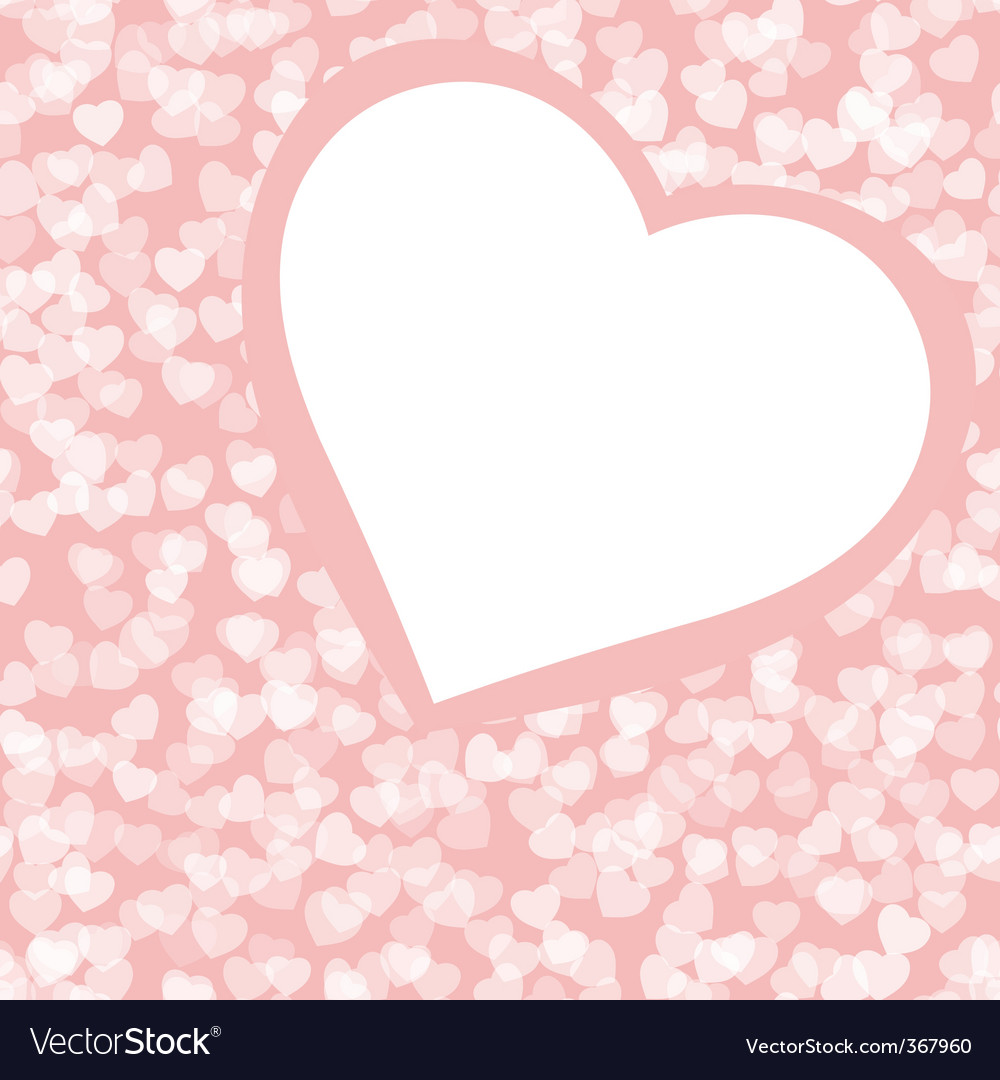 Romantic valentine background template Royalty Free Vector