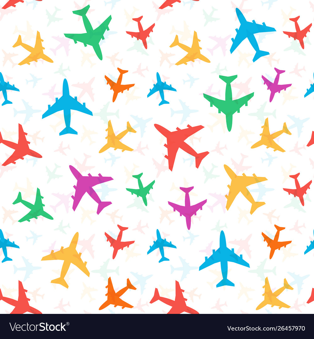 Cheerful bright colorful pattern colored