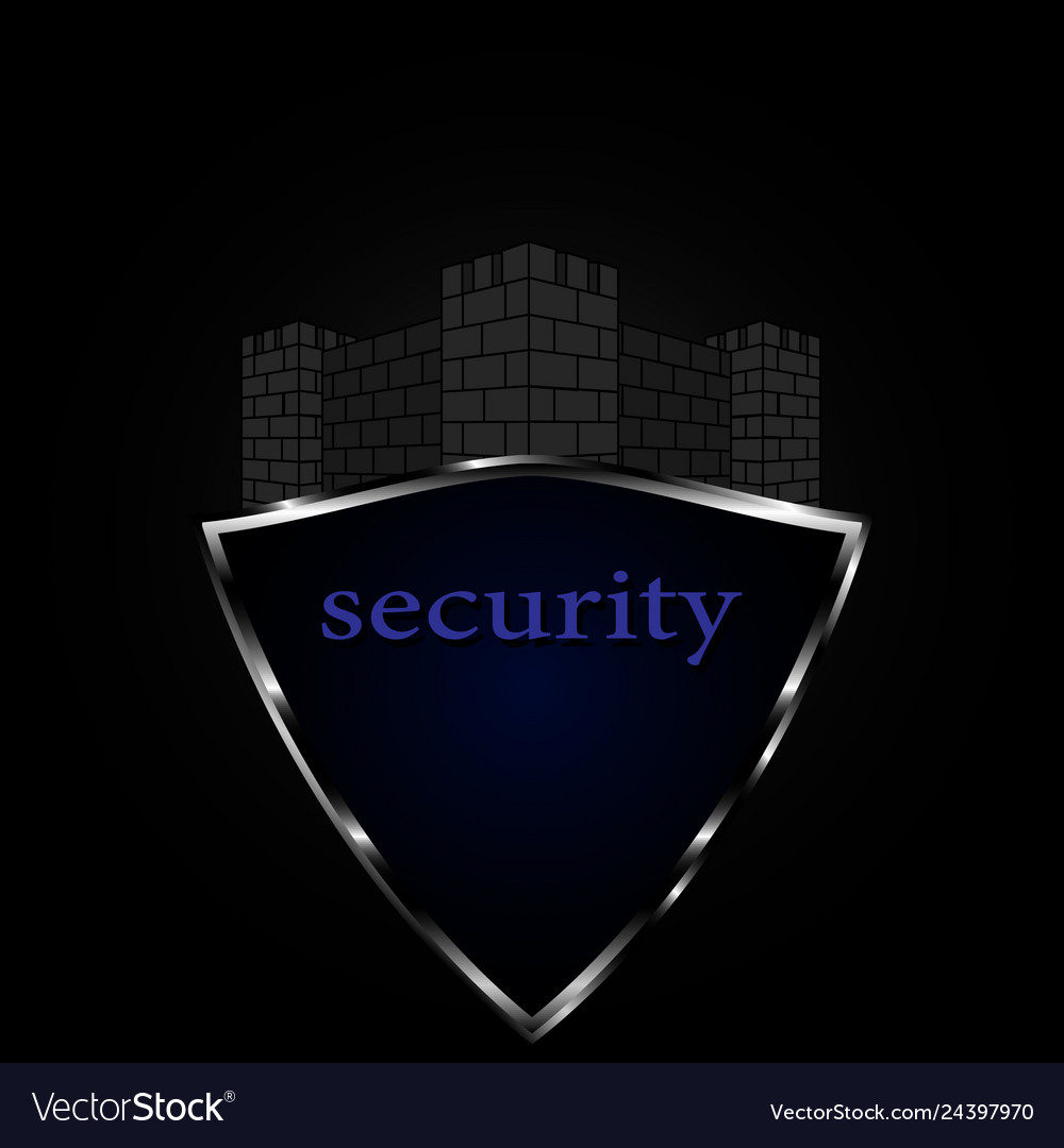Logo for security safety protection